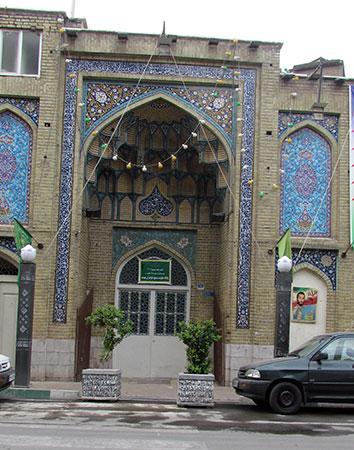 مسجد لرزاده - حسین لرزاده - خیابان خراسان - تهران - ایران